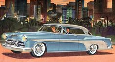 Chryslers+of+the+50's | 50 S Car Ads