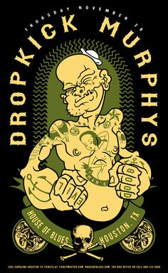 Muscle sailor man - Dropkick Murphys. Follow me for more awesome