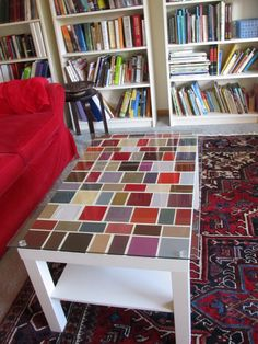 A Floor Made From Formica Laminate Samples Originally Pinned By Formica Who 39 D Have Thought