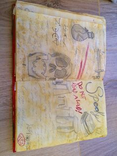 Gravity falls book 3 replica made by me page 17 spells yes I know I put spooky I'm an idiot