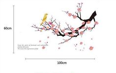 Plum Blossom Tree Wall Decal Vinyl Plum Blossom Wall by Lovecase, $22.00