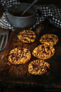 Double Choc cookies aux flocons d'avoine - Le plaisir des mets