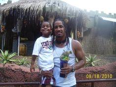 Josh Fatu  his son Jaciyah