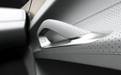 ideas-about-nothing:  Car door handle detail