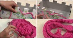 ¿Qué dirías si te dijera que con una simple caja de cartón puedes tejer una bufanda? ¡No te lo pierdas!