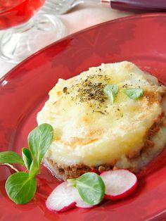 Pastel de carne de ternera y patata