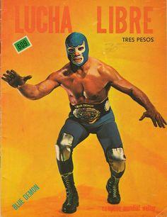 Lucha Libre - Blue Demon
