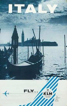 Fly KLM to Italy