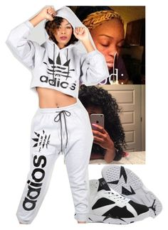 """The Outfit When I Beat A Bish Ahh"" by qeens ❤ liked on Polyvore"