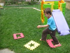 Happy Whimsical Hearts: Obstacle course!!