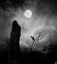 spirit of evil by moonlight