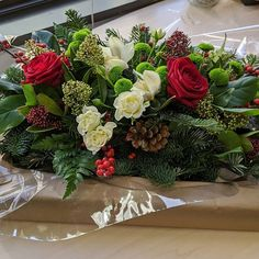 Thank you so much for the beautiful Christmas centerpiece! I can't wait to gift this to our dinner host on Wednesday Christmas Centerpieces, Beautiful Christmas, Wednesday, Floral Wreath, Stationery, Wreaths, Dinner, Twitter, Party
