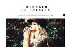 Blogger LR Presets by GOICHA on @creativemarket