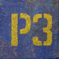 Design par JeanPaquette.ca designer graphique #P3 #stationnement #parking #parkinglot #typography #stencil #pochoir #numero #3 #number #paint #art #artmontreal #peinture #sudouestmtl #pointesaintcharles #graphic_arts One For The Money, Parking, Arts, Designer, Instagram, Stencil, Chart, Paintings