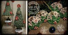 Le 25 più belle idee natalizie da realizzare con le cannucce di carta + tutorial. Christmas Bulbs, Christmas Crafts, Xmas, Christmas Ideas, How To Make Paper, Origami, Holiday Decor, Handmade, Painting