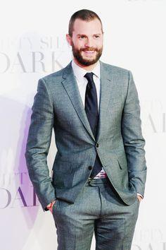 Jamie dornan Fifty shades Darker premiere in London England february 9th 2017