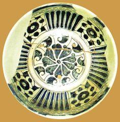 İznik Milet ware, dish, red clay,22 cm, 15th century, İstanbul Archeology Museum  (Erdinç Bakla archive)