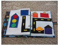 Ten page quiet book with link to pattern!