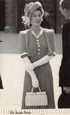 then Princess Elizabeth 1947