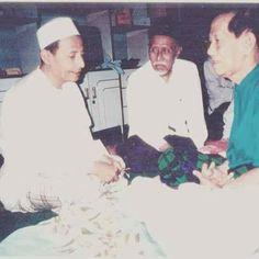 Foto Habib Luthfi, Abdullah Zein dan Habib Ali Bafaqih