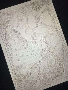 #Dessin ririfaust #Manga