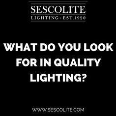 What do you look for in quality #lighting? #homeinterior #decorativelighting #quality #homedesign #interiordesign