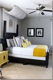 Yellow And Grey Master Bedroom   Google Search