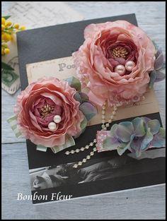 Bonbon Fleur ~ Jours heureux  コサージュ&和装髪飾りボンボン・フルールの画像