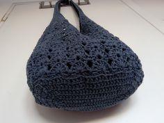 crochet boho bag - hačkovaná taška v štýle boho