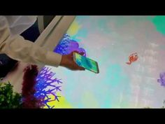 Draw and Release: Samsung Galaxy 7S. Draw a fish from your phone, submerge in water and set it free