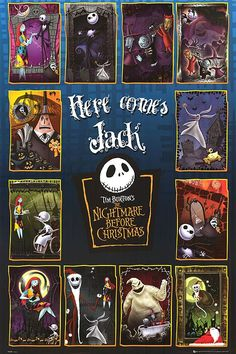 Nightmare Before Christmas international movie posters | NIGHTMARE BEFORE CHRISTMAS POSTER ]