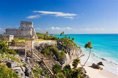 Tulum is one of the most popular tourist attractions in Mexico and definitely an archaeological site you just can't miss on your next vacation in Cancun, Playa del Carmen or Riviera Maya.You will be picked up from your Cancun or Riviera Maya hotel an Riviera Maya, Tulum Mayan Ruins, Places To Travel, Places To See, Travel Destinations, Snorkel, Quintana Roo, Tours, Vacation Spots