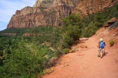 Kayenta Trail, Exploring Zion National Park - Take this trail to Emerald Pools Trail