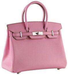 Hermès 30cm Birkin Epsom Rose With Phw in Pink (rose) | Lyst