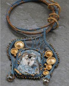 Beaded Earrings, Beaded Jewelry, Beaded Necklaces, Jewellery, Beading Projects, Beaded Embroidery, Beadwork, Pendants, Pearls