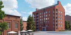 Uusia asumisoikeusasuntoja nousee Kankaan alueelle Jyväskylässä   Rakennuslehti