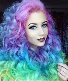40 erstaunliche Ideen für Mermaid Hair #erstaunliche #ideen #mermaid