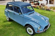 Citroen Dyane - The first car that was all mine and mine alone!