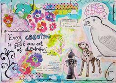 Art Journaling   Flickr - Photo Sharing!