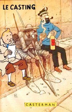 Les Aventures de Tintin - Album Imaginaire - Le Casting