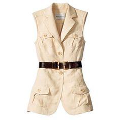 what to wear women's safari jacket Safari Outfit Women, Safari Outfits, Jungle Outfit, Safari Vest, Vintage Safari, Suits For Women, Clothes For Women, Mode Mantel, What To Wear