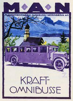 Kraft Omnibusse, Ludwig Hohlwein