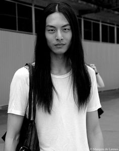 Model asian male model long hair asian model asian male model David Chiang Francis Lane allen tsai