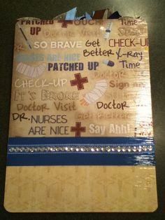 New Nurse Clipboard, Great Gift for a Nurse!