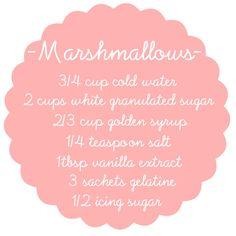 Let's Make Homemade Marshmallows!