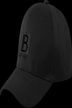 """$27.99 · Our Dad Hat is perfect for any activity — whether it be an intense workout or a casual day out. It's comfortable, yet stylish. Dad would approve (…then probably """"borrow"""" it)! #livbody . Color: Black Logo on Black Hat . Fabric: 100% Cotton . Size: One Size . Unstructured . Antique brass buckle closure . Matching undervisor . 4-row stitching on visor Placement Agencies, Juno Beach, Intense Workout, Brass Buckle, Dad Hats, The Borrowers, Antique Brass, The Row, Stitching"""