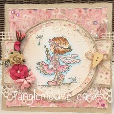 LOTV - Dandelion Clock with Dress Shoppe Paper Pad by Sue Hastead