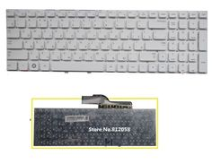 New Russian Keyboard white no frame for SAMSUNG NP300E5A NP300V5A 300E5A 305E5A 300V5A 305V5A 300E5X laptop RU Keyboard  #Affiliate