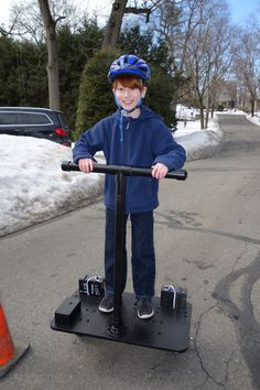 Picture of Rideable Segway Clone - Low Cost and Easy Build