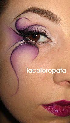 Fairy eye makeup                                                                                                                                                      Más